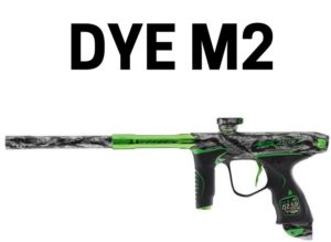 DYE M2 Best electronic paintball marker review
