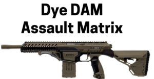 Dye DAM Assault Matrix Best tactical paintball marker