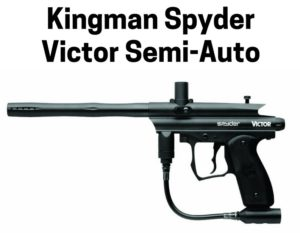 Kingman Spyder Victor Semi-Auto Paintball Gun