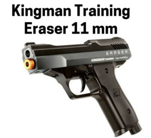 Kingman Training Eraser best beginner level paintball pistol