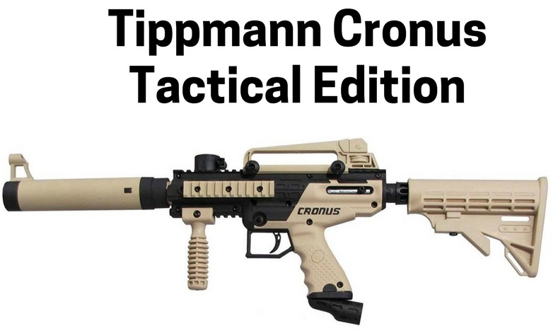 Tippmann Cronus Tactical Edition Mechanical Gun review