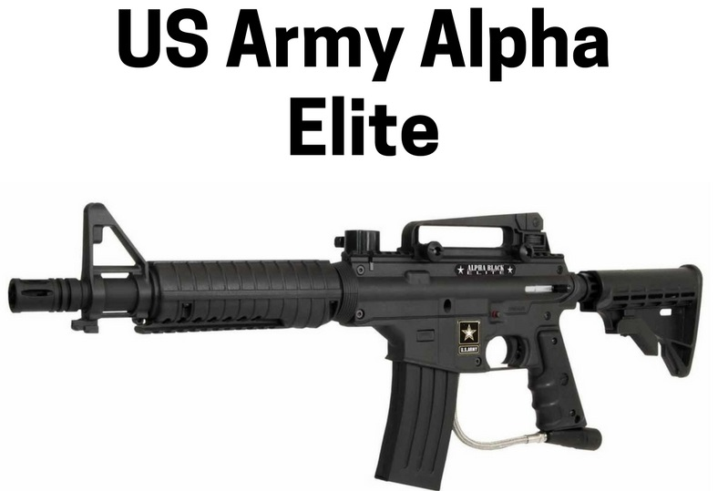 US Army Alpha Elite Mechanical Paintball Marker