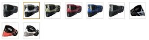 Empire E-Flex Paintball Goggles Color Options