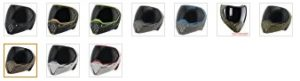 Empire EVS Paintball Mask Color Options