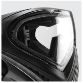 Dye i4 paintball mask review of lens