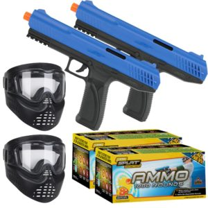 JT SplatMaster duel pistol style paintball guns for children